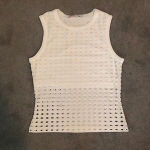 Alexander Wang hole shirt